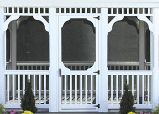 Gazebo Aluminum Screens