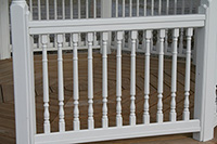 Gazebo Spindle Railings