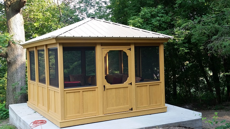 Gazebo Depot Gazebo Screen Room Enclosure Rectangle