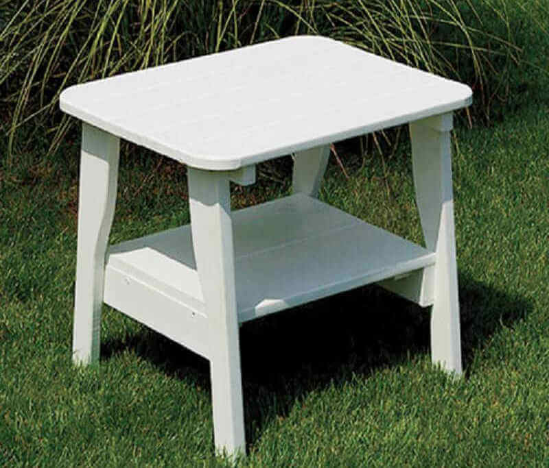 Gazebo Depot End Table Poly Vinyl Furniture Endtable