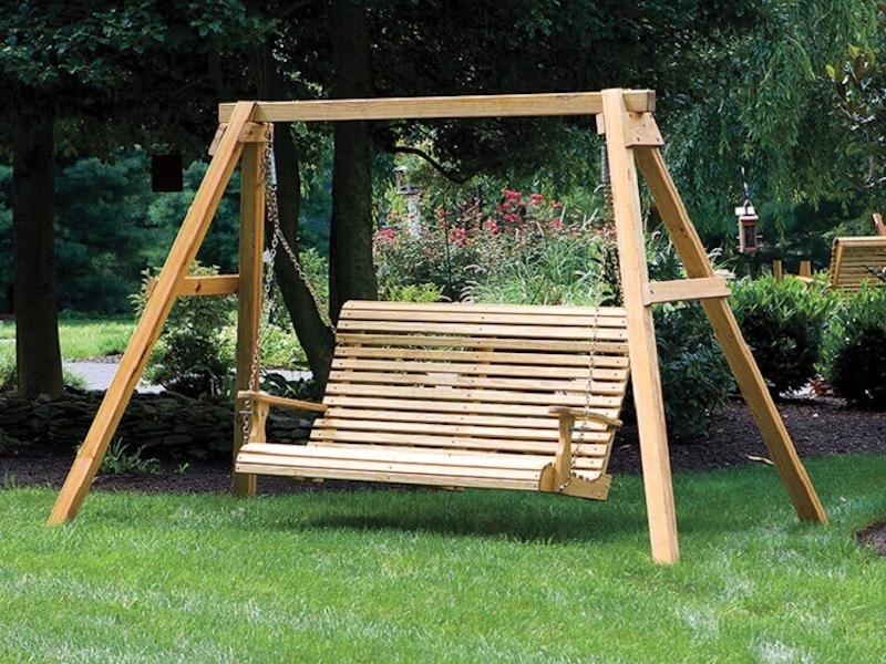4 Ft Rollback Porch Swing Porch Swings Gazebo Depot