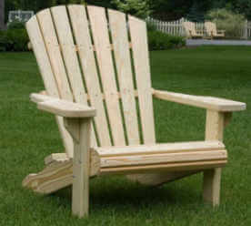 Adirondack Chair Patio