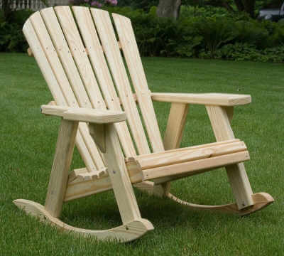 Adirondack Rocker Patio