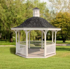 Bell Shape Roof Gazebo