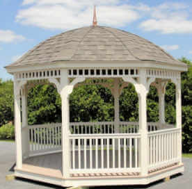 Dome Roof Gazebo