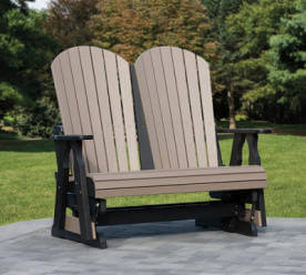 Fanback Adirondack 4ft Glider Country