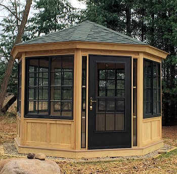 Gazebo Depot Gazebo Enclosure 1 Octagon Gazebo