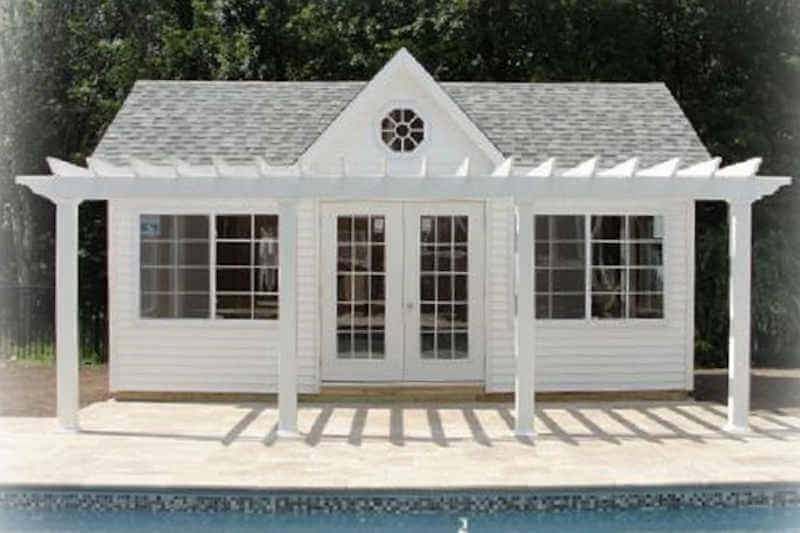 Gazebo Pool House Rectangle Gazebo Pool House Gazebo