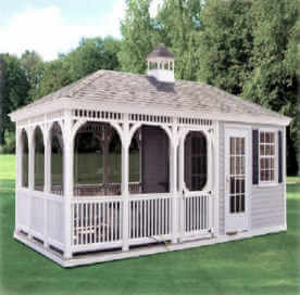 Gazebo Pool House (Rectangle)