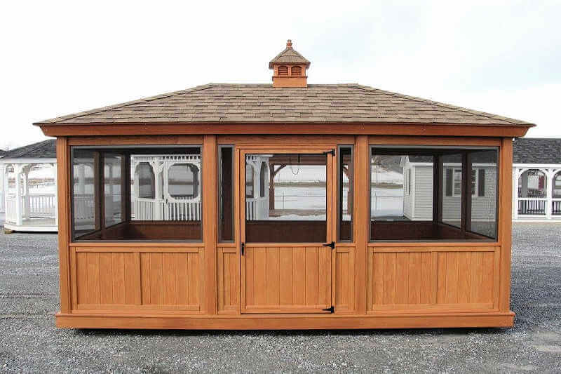 Gazebo Enclosure 1 Octagon Gazebo Enclosures Gazebo Depot