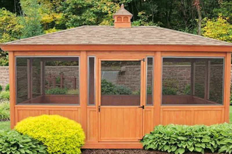 Gazebo Screen Room Enclosure Rectangle Gazebo Screen Room