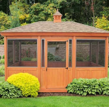 Home Depot Portable Screen Rooms : Furniture gazebos agora outdoor living veranda gazebo bug