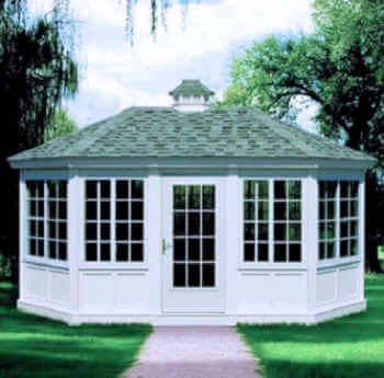 Gazebo Enclosure 2 Oval