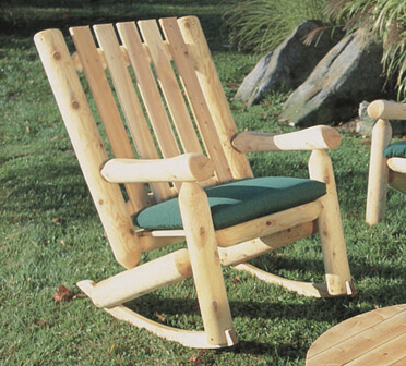 High Back Rocker