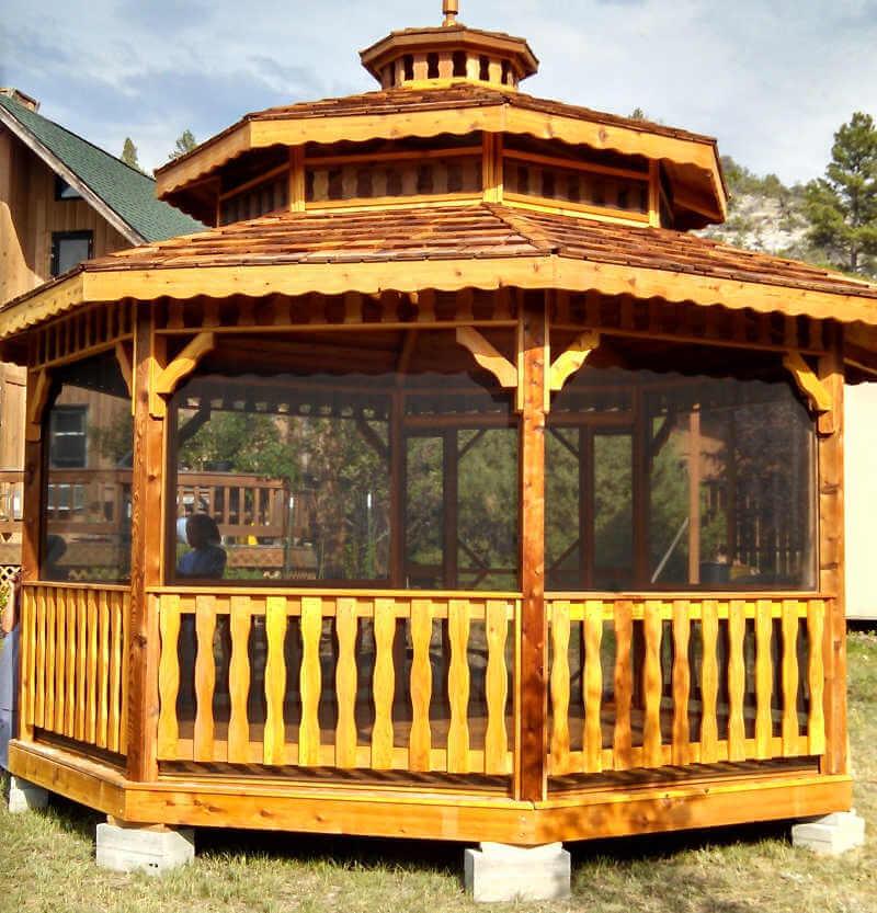 Gazebo Depot Montana Octagon Gazebos Montana Gazebos