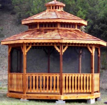 Montana Octagon Gazebos Montana Gazebos Gazebo Depot
