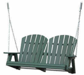 Patio Poly Adirondack Swing