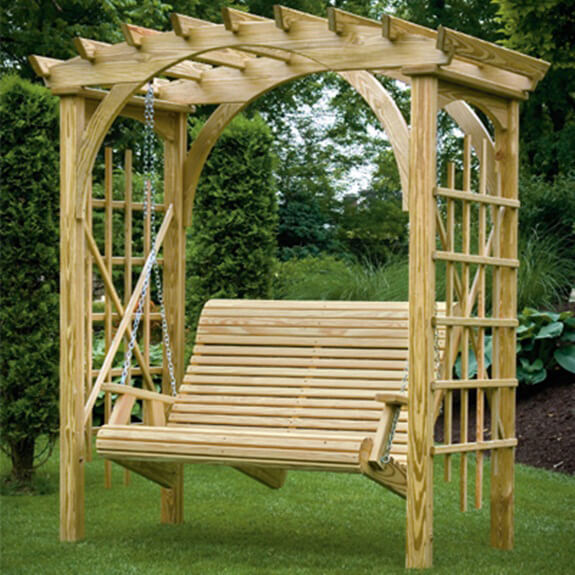 woodwork arbor bench swing plans pdf plans
