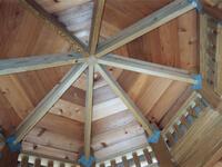 Gazebo Cedar Roof