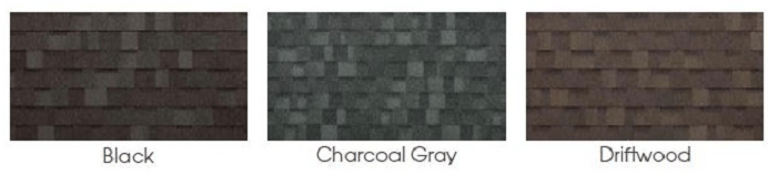 Gazebo Asphalt Shingle Colors